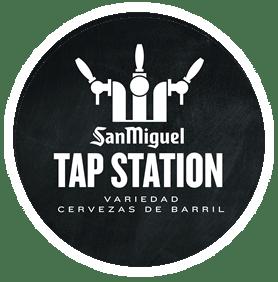 logo tap station - MEJORES RESTAURANTES MADRID TERRAZA SUSHI ACOGEDOR ÍNTIMO