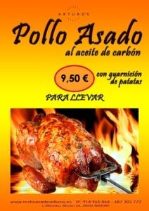 POLLOS ASADOS ARTUROS 212x300 - OFERTAS RESTAURANTES COMIDA POLLO ASADO PARA LLEVAR MADRID