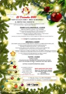 menu2 especial navidad 2020 212x300 - MEJORES RESTAURANTES MADRID TERRAZA SUSHI ACOGEDOR ÍNTIMO