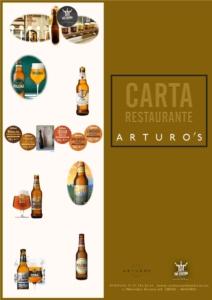 CARTA ARTUROS EXT 2021 04 27 212x300 - MEJORES RESTAURANTES MADRID TERRAZA SUSHI ACOGEDOR ÍNTIMO